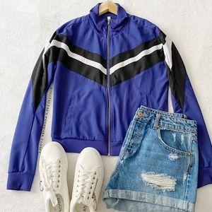 Fabletics Vintage Style Track Jacket